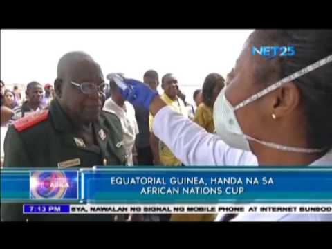 Equatorial Guinea, ready for the African Nation Cup