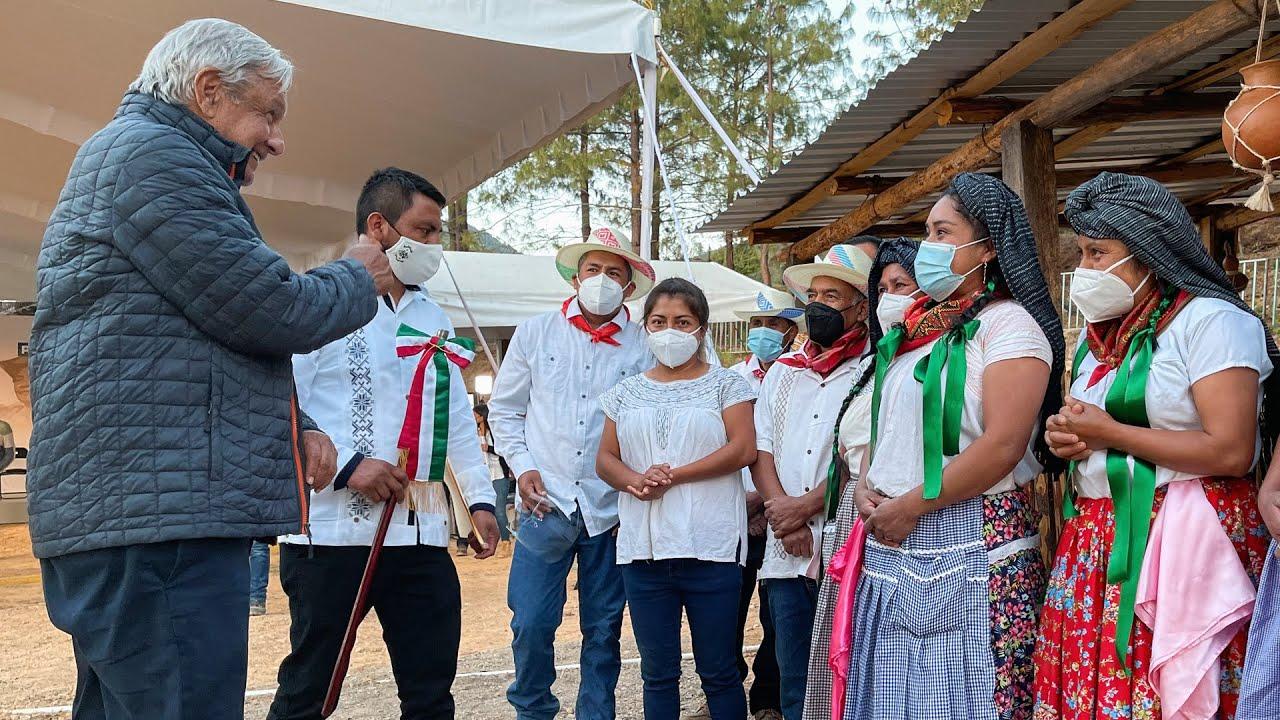 Demostración de maíz nativo de Oaxaca