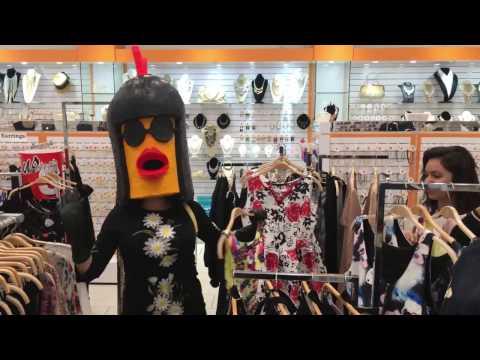 Rockin Robin Goes Shopping