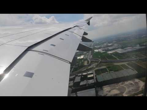 lufthansa a380 heavy take off shanghai
