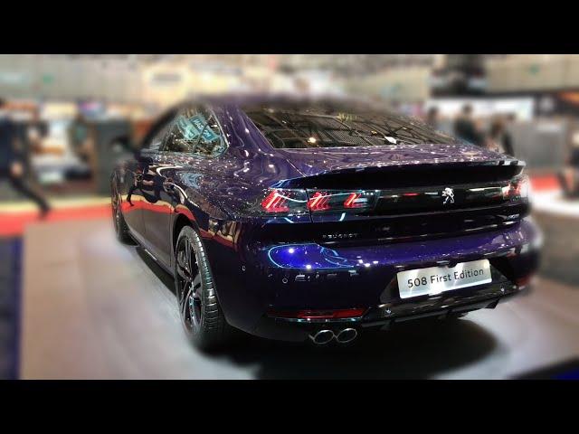 Новый Peugeot 508 2018 Обзор