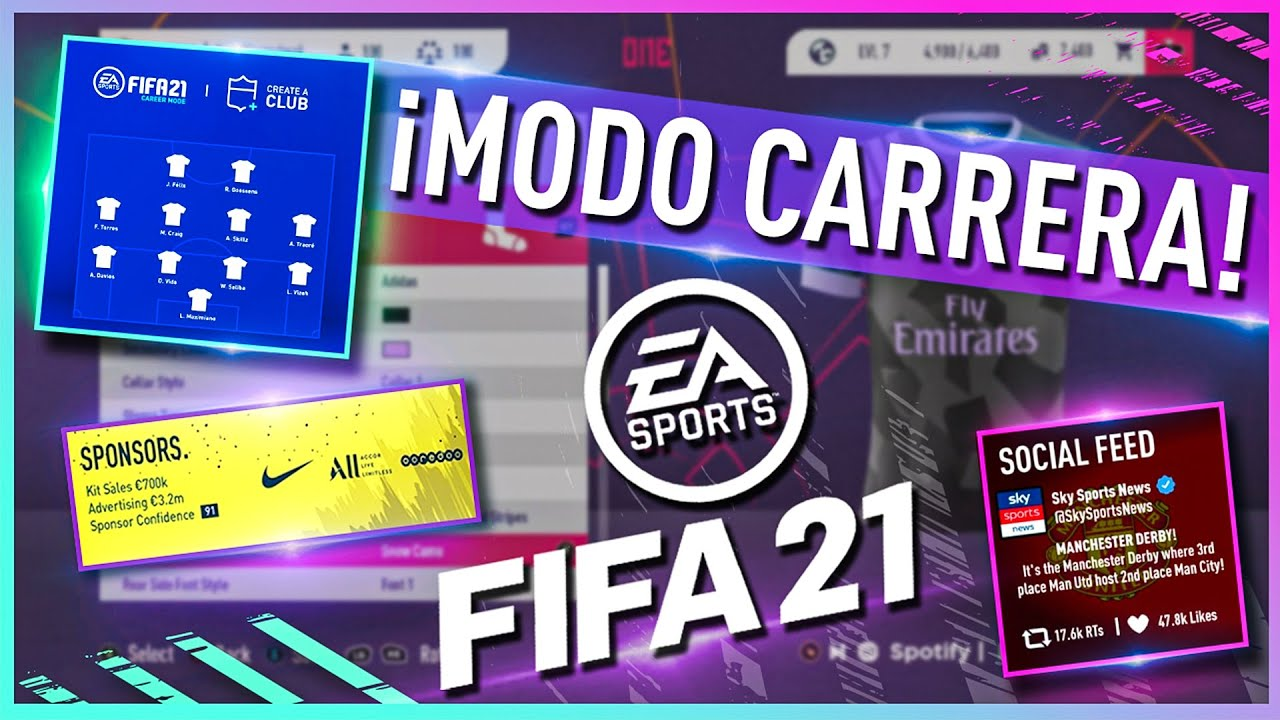 FIFA 21 | ¡¡ASÍ SERÍA EL NUEVO MODO CARRERA!!
