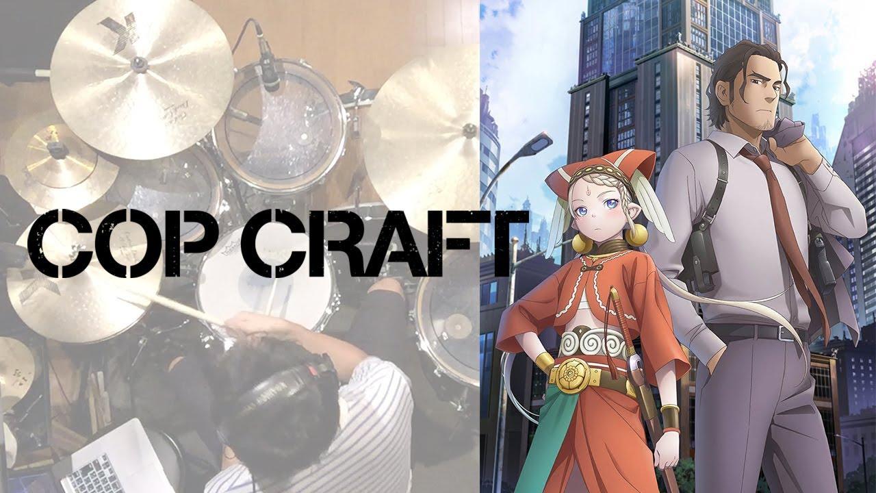 Cop Craft Op Rakuen Toshi Ooishi Masayoshi Drum Cover