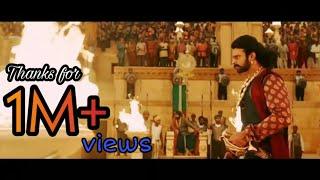 Bahubali 2 - Prabhas Entry Scene Telugu HD||Head cut Scene