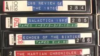 My Betamax LIbrary Tour - Tape by Tape - Feb., 2009, part 1!!