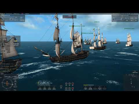 Naval Action: Portbattle of Macanao