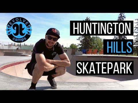 [PARK TOUR] Huntington Hills Skatepark | Evolve Camps