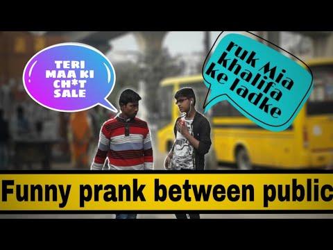 Funny prank between public || HVS || hvs ki vines ||