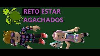 TORTUGA RETO AGACHADOS//FLEE THE FACILITY//ROBLOX