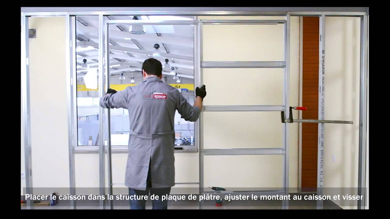 Caisson en kit pour porte galandage youtube for Porte de renovation interieur castorama
