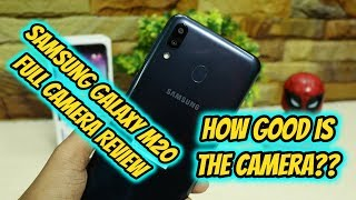 Samsung Galaxy M20 – Full Camera Review | How Good is The Camera??