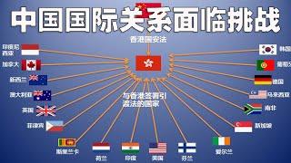 香港国安法实行,80国紧急回应,中国在外交领域面临困难(2020-7-2第313期)