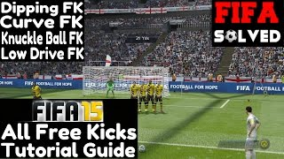 FIFA 15 Advanced Tips: All Free Kicks Tutorial Guide