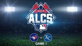 10/16/15: Royals shutout Blue Jays to take Game 1