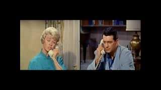 Video Pillow Talk (1959) Doris Day quarreling with Rock Hudson download MP3, 3GP, MP4, WEBM, AVI, FLV November 2018