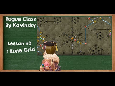 [Ragnarok Mobile] Rogue Class by Kavinsky #Lesson 3 : RUNE AND SKILL BUILD