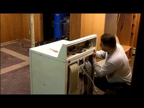 Kenmore 80 Series Electric Dryer Disasembly Cleaning Part