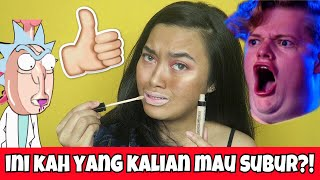 NOT STEP BY STEP MAKEUP CHALLENGE! | Indira Kalistha