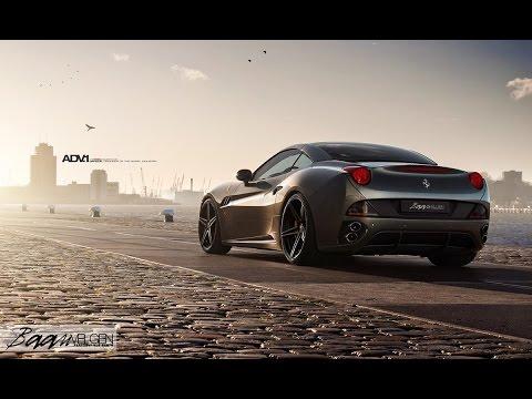 Modified Ferrari California on ADV.1 Wheels by Baan Velgen