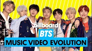 Check out BTS' Music Video Evolution: from 'No More Dream' to their 2018 hit 'IDOL.' 00:00 - No More Dream 00:10 - We Are Bulletproof Pt2 00:20 - N.O. 00:30 ...