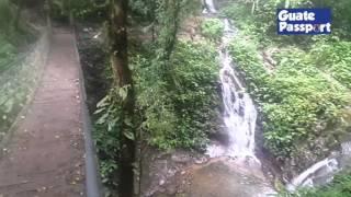 Cascadas en el Refugio del Quetzal San Rafael Pie de la Cuesta