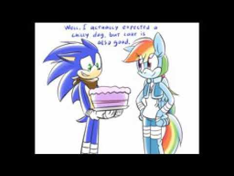 El Cumpleaños De Sonic Por Rainbow Dash