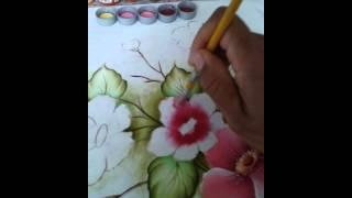 Pintura em tecido com Cristiano Torres