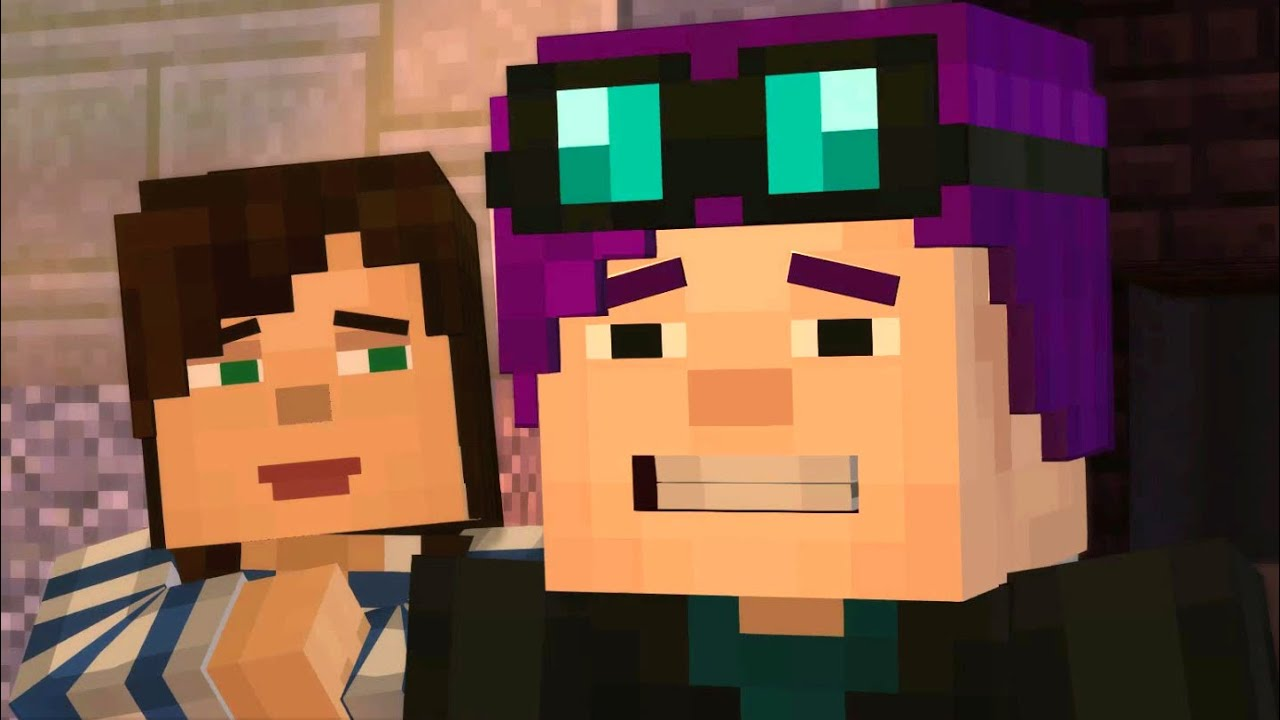 pat and jen minecraft story mode season 2 episode 6