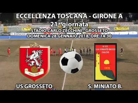 Us Grosseto-San Miniato Basso 0 a 0