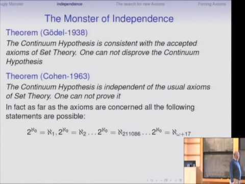 Can the Continuum Problem be Solved? - Menachem Magidor