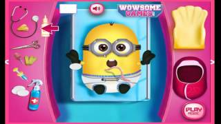 Minion Girl And The New Born Baby Cartoon Video Game For Girls