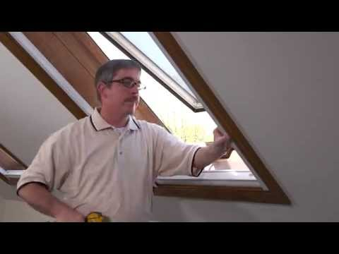 How To Install Motorized Cellular Skylight Shades Youtube