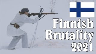 Finnish Brutality 2021: Winter War 2-Gun with a Finnish M39 Mosin