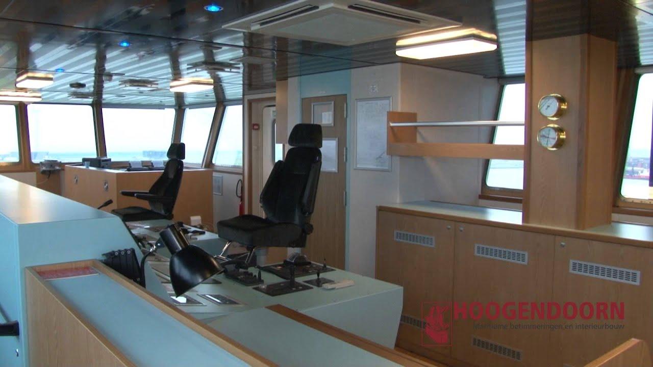 Hoogendoorn werkplaats binnenvaart maritiem for Interieur sport youtube