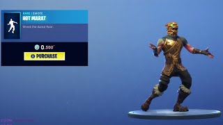 "* NEU* FORTNITE FREE WRECK IT RALPH ""HOT MARAT"" EMOTE!!??!? 