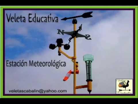 Veleta educativa estaci n meteorol gica weathervane - Estacion meteorologica precio ...