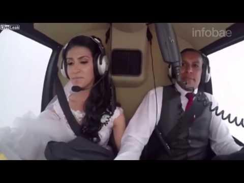 La tragedia de la joven que quiso sorprender a su novio llegando en helicóptero a la boda
