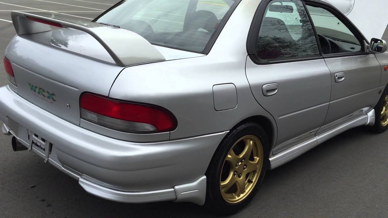 1998 subaru impreza wrx sti version 4 5 speed manual 148 000 kms rh youtube com 98 Subaru 2.5 RS 98 Impreza Rally