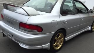 1998 Subaru Impreza WRX STI Version 4, 5 speed manual, 148,000 kms, STI interior