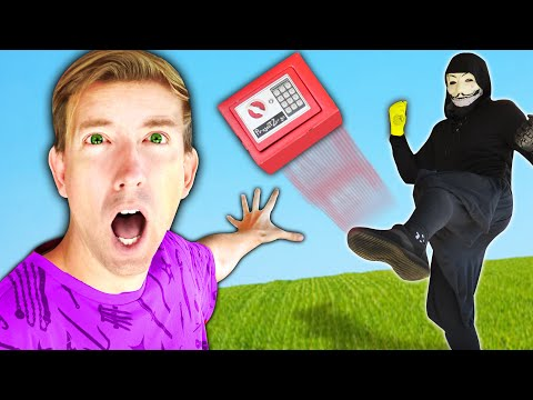 PZ9 TAKES SAFE to DEFEAT PROJECT ZORGO & Uses DIY Hacks to Overcome Fails to Open Mystery Box