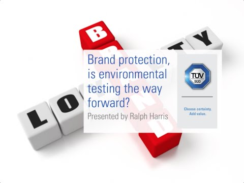 Brand protection, is environmental testing the way forward?