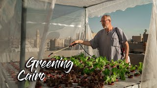 Building rooftop farms in Egypt - Documentary by Estelle & Ramy
