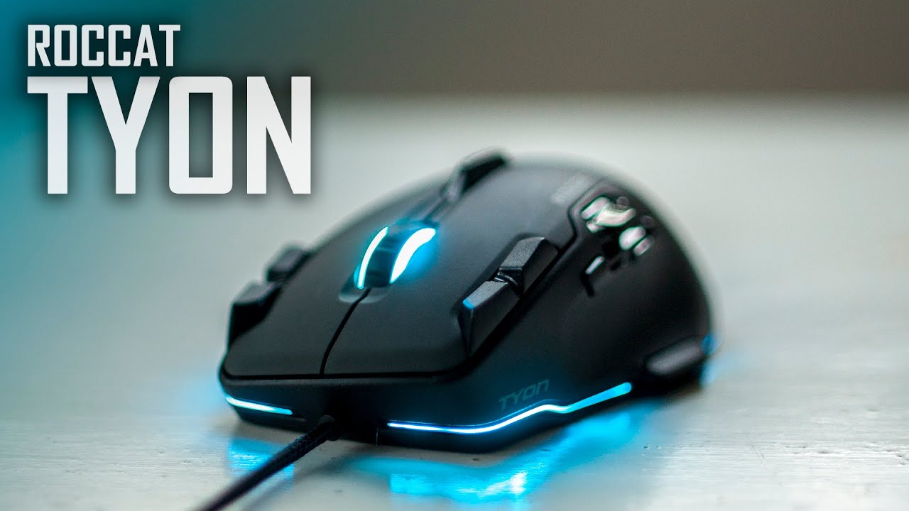 Roccat Tyon Review | Best Laser Gaming Mouse on the Market! - YouTube