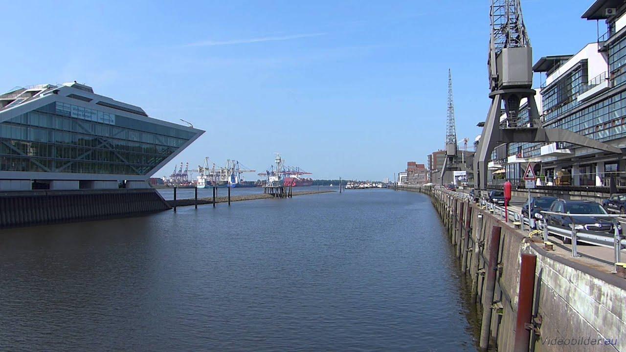Hamburg Hafen Altona Dockland Van Der Smissen Straße Full Hd