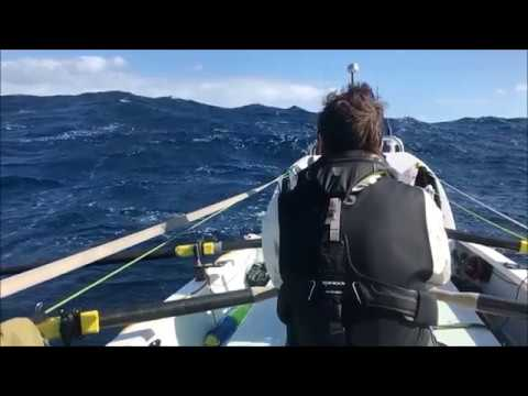 Rowing across the Atlantic (2017)