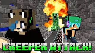 MINECRAFT MONDAY EP110 | CREEPER ATTACK! | GAMER CHAD | HYPIXEL SERVER