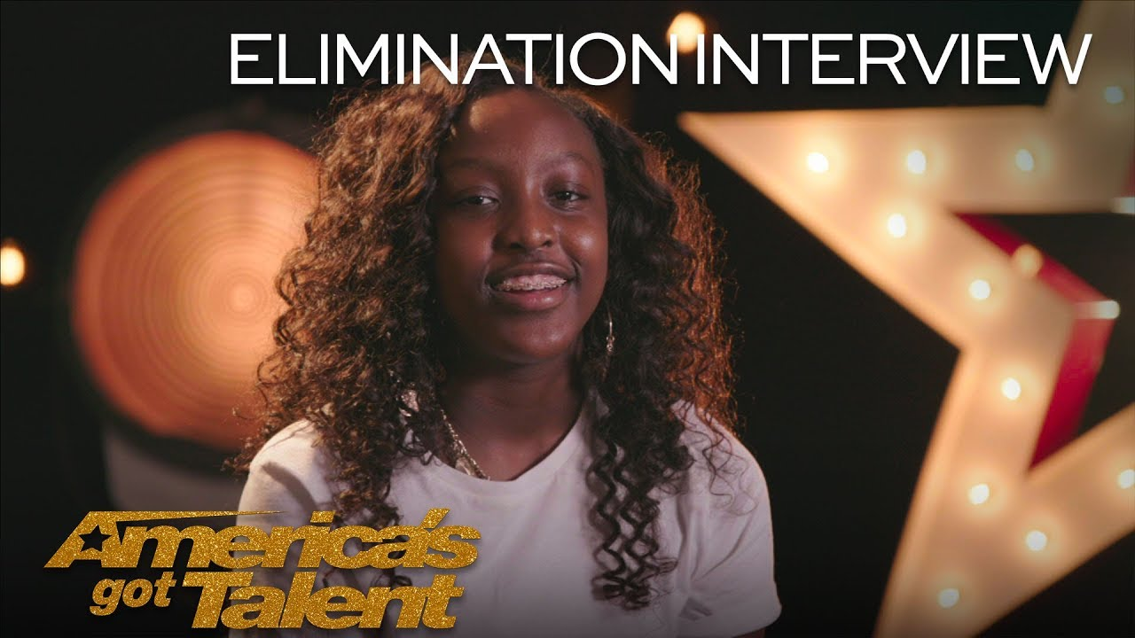 Elimination Interview: Flau'jae Recalls Her Favorite AGT Memories - America's Got Talent 2018