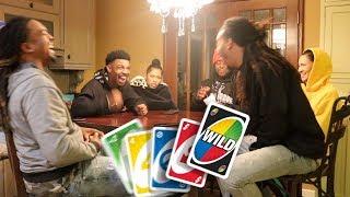 $1,000 Dollar Uno Game Challenge!!! (Loser Gets Punishment)!!!