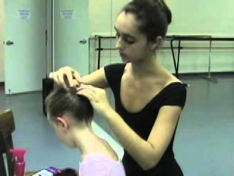 Ballet Basics Hair Buns For Kids Youtube