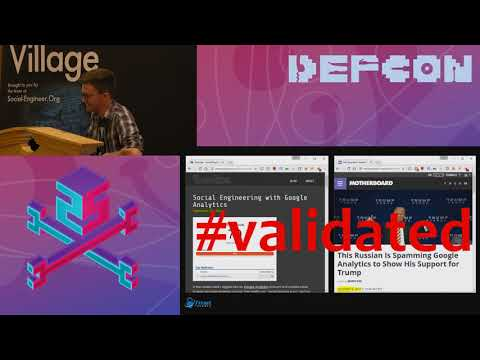 DEF CON 25 SE Village - Tyler Rosonke - Social Engineering With Web Analytics